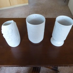 Bisquit Vasen