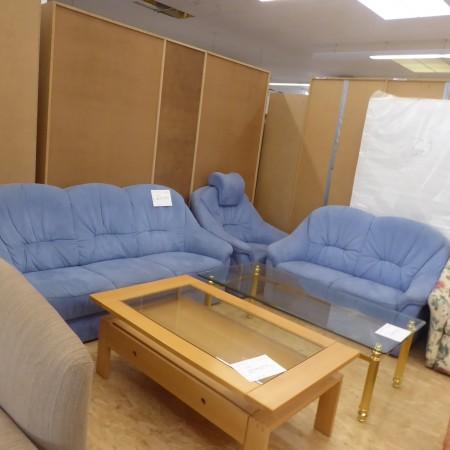 Sitzgarnitur Blau; Artikel-Nr.: 3133
