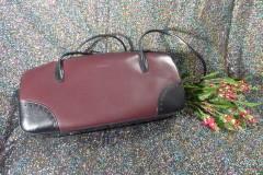 Bordauxfarbene Handtasche; Artikel-Nr.: 3021