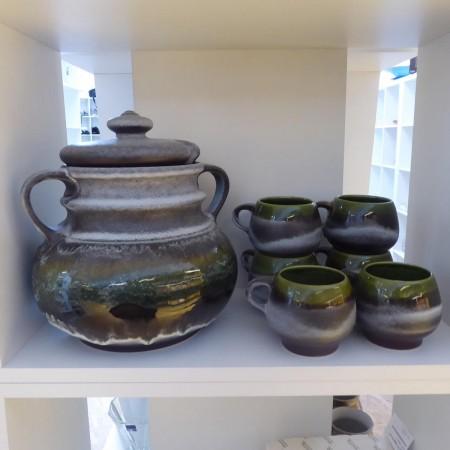Bowle Set grau-grün; Artikel-Nr:: 3121