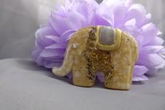 Damenbrosche Elefant; Artikel-Nr.: 880