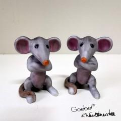Zwei Mäuse