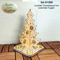 #075 - Teelichthalter Tannenbaum