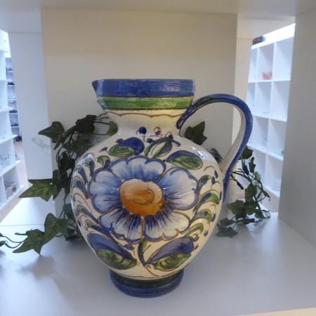 Krug mit Blumenmuster; Artikel-Nr.: 3126