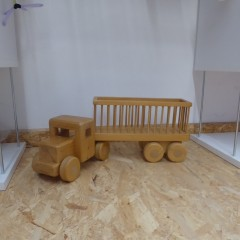 LKW aus Holz; Artikel-Nr: 3108