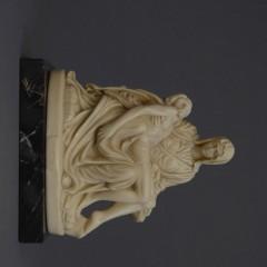 Jesusskulptur Alabaster/Marmor