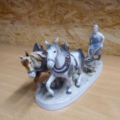 Porzellan Pferde