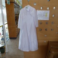 Weißes Kommunionkleid