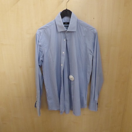 Blaues Herren Hemd, Hugo Boss