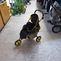Kinderwagen, gelb/schwarz