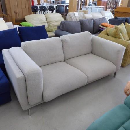 Graues 2er Sofa