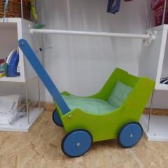 Puppenwagen aus Holz; Artikel-Nr.: 3107