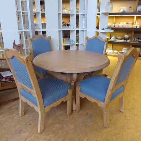 Runder Tisch mit Stühlen; Artikel-Nr: 3073