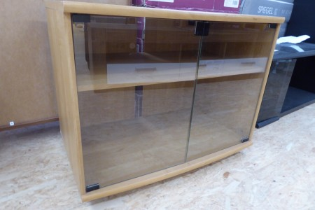 TV Tisch mit Glastüren; Artikel-Nr.: 886