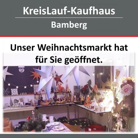 Weihnachtsmarkt im Kaufhaus Bamberg