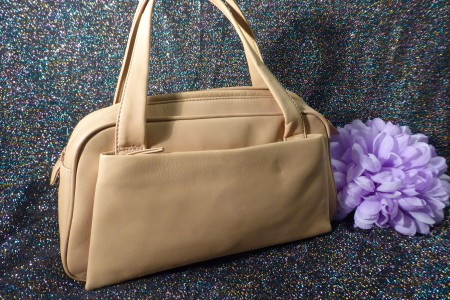 Beige Handtasche; Artikel-Nr.: 3020