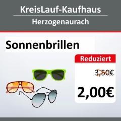 Sonnenbrillen-Aktion