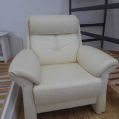 weißer Sessel; Artikel-Nr.: 3086