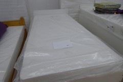 weißes Einzelbett; Artikel-Nr.: 3005